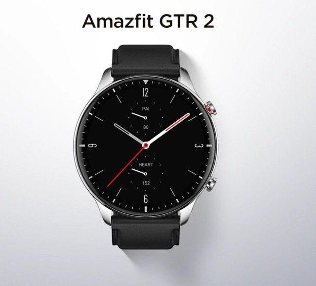 Smartwatch Amazfit GTR 2 (GRÁTIS FONE DE OUVIDO BLUETOOTH)
