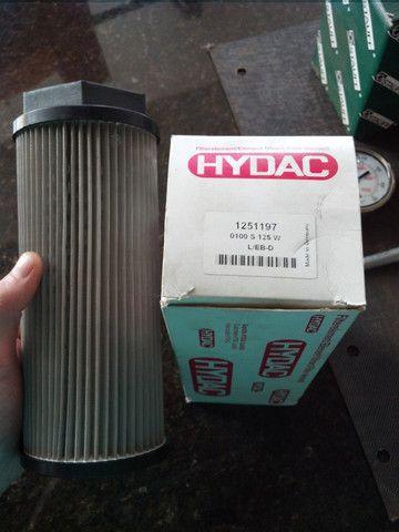 Filtro hidráulico de sucção da Hydac  100 litros 125 micra - Foto 3
