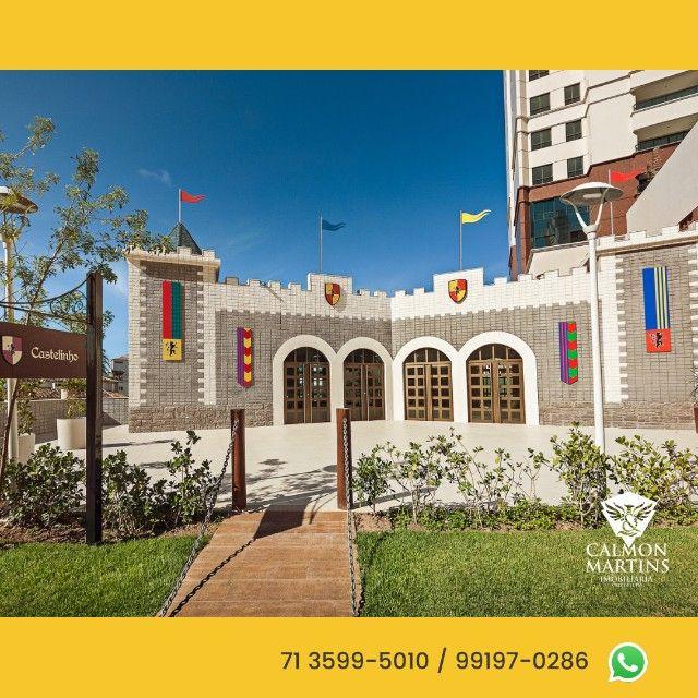 Apartamentos em 115m² com 3 suítes, 2 vagas, vista mar - Patamares  - Foto 6