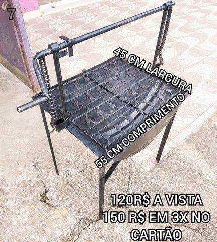promoção churrasqueira tambo brinde 2 saco Carvão  entrega gratis @@!## - Foto 3