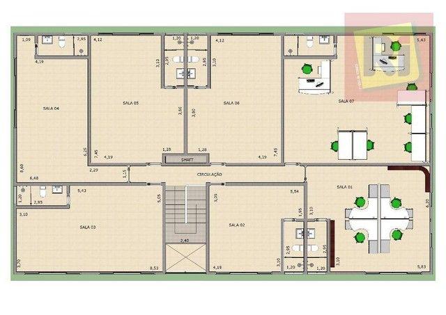 Sala, 58 m² - venda por R$ 249.000,00 ou aluguel por R$ 1.200,00/mês - Jardim Vicente Carv - Foto 4