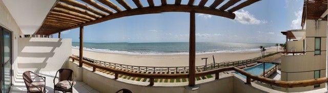 Apartamento para alugueo temporada  com pé na areia na praia do cumbuco 100 m2 - Foto 7