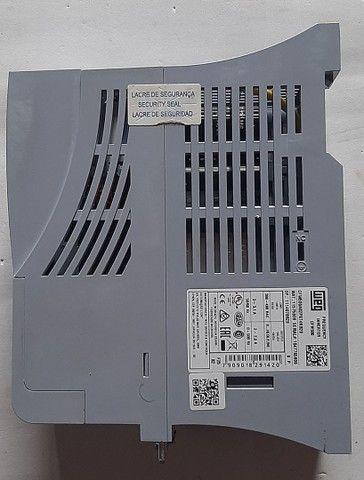Inversor de Frequência WEG CFW500 380V 2.6A 1CV Novo - Foto 5