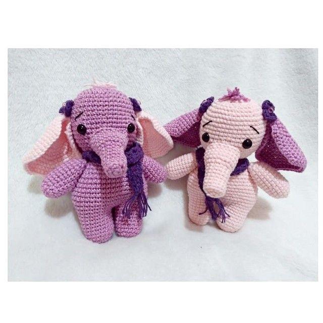 Elefantinho amigurumi - sob encomenda  - Foto 2