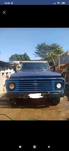 Vendo caminhão caçamba f600