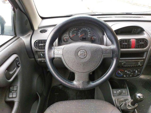 Corsa Sedan Premium 1.8 Flex 2008 COMPLETO + AIRBAG - Foto 10