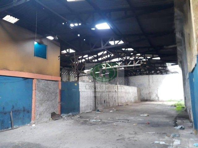 Galpão para alugar por R$ 8.000,00/mês - Macuco - Santos/SP - Foto 12