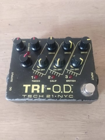 Pedal SanSamp TRI-OD Tech 21