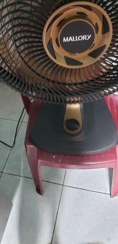 Leia com atenção 40cm do grande ventilador mallory - Foto 2