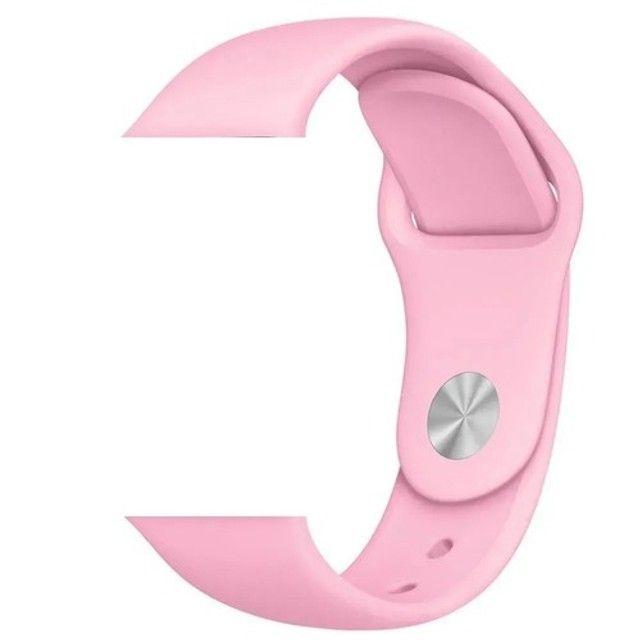 Relógio Smartwatch D20 + Pulseira Rosa - Foto 3