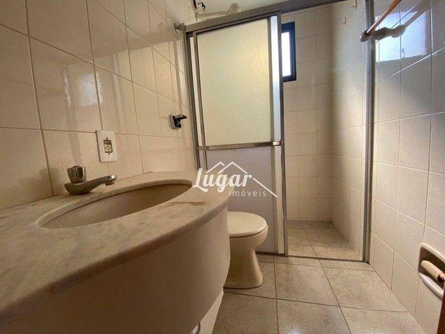Apartamento com 3 dormitórios para alugar, 100 m² por R$ 1.300,00/mês - Boa Vista - Maríli - Foto 10