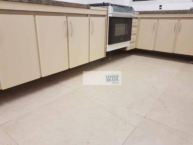 Apartamento com 4 dormitórios para alugar, 335 m² por R$ 14.000,00/mês - Chácara Flora - S - Foto 14