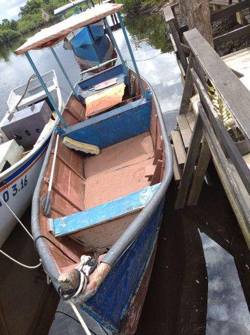 Barco de fibra .