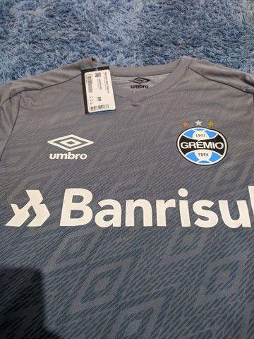 Camisa de Treino Grêmio 2020 - Não tem a venda no site - Foto 2