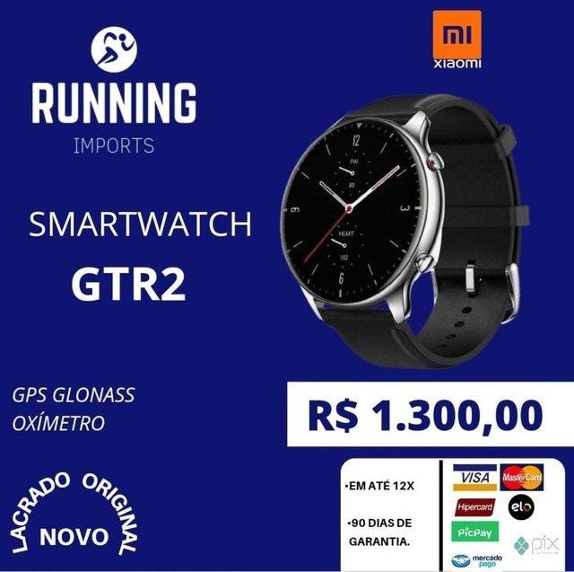 Smartwatch Amazfit GTR 2 (GRÁTIS FONE DE OUVIDO BLUETOOTH) - Foto 2