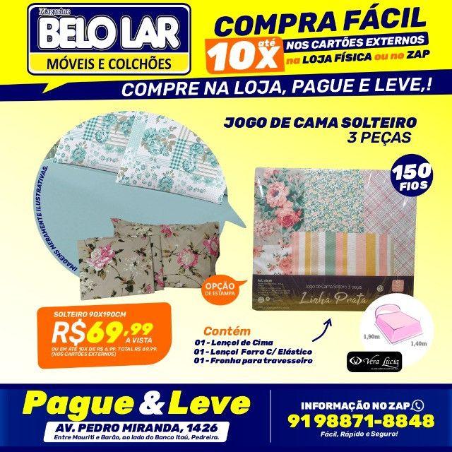 Jogo De Cama Solteiro 3 Peças ,Compre no zap *