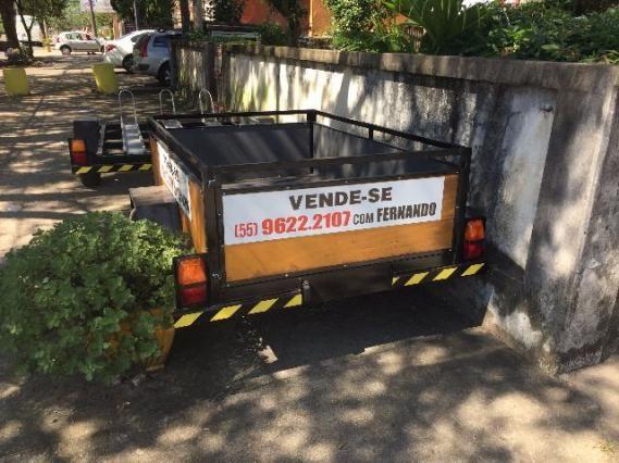 Reboque para transporte de carga/moto