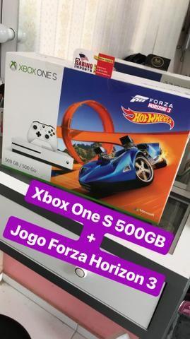 Xbox One S 500GB + Jogoa Forza Horizon 3