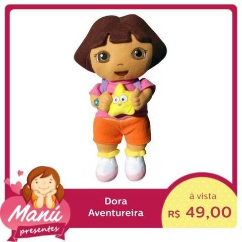Pelucia Dora Aventureira Pelúcia