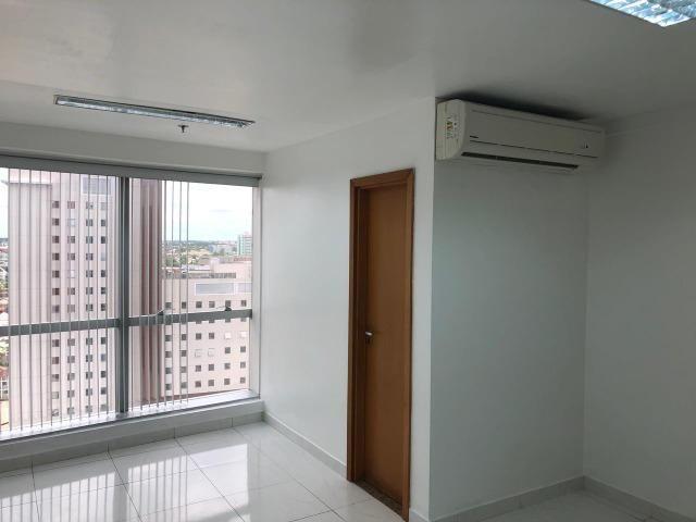 2 salas no Ed Atlantic Tower andar alto lado a lado chapada - Foto 9