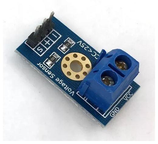 COD-AM114 Módulo Sensor De Tensão Dc 0 A 25v Arduino Automação Robotica - Foto 2