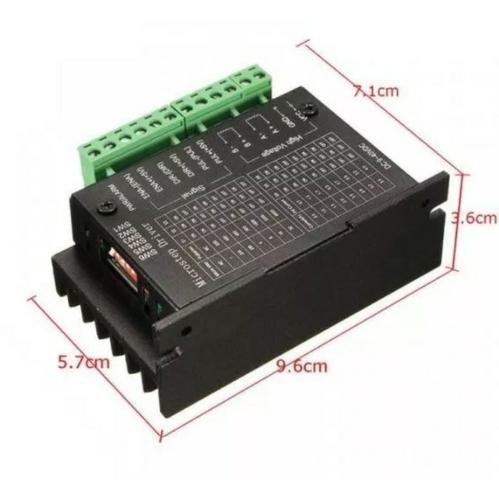 COD-AM227 Driver Motor De Passo 4a - Tb6600 9-40v Semi-profissional Arduino Automação - Foto 2