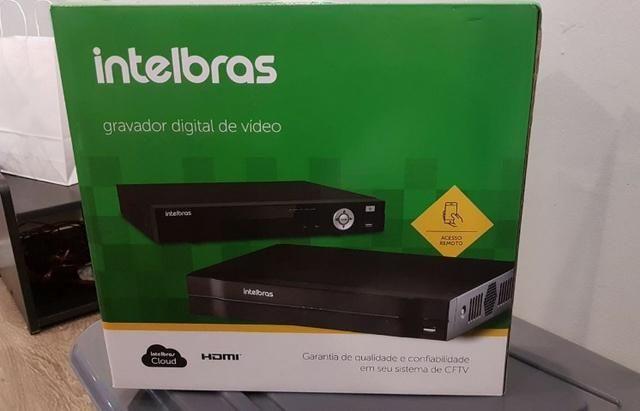 MHDX 3008 Gravador MultiHD 8 Canais Full HD - Intelbras - Novo com garantia