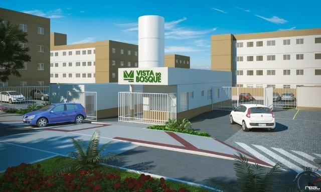 Residencial Vista do Bosque, apartamentos com 2 quartos sendo 1 suíte reversível,