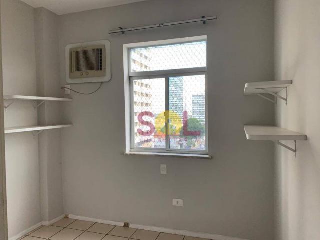Apartamento com 3 dormitórios próximo ao riverside, 97 m² por r$ 420.000 - jóquei - teresi - Foto 12