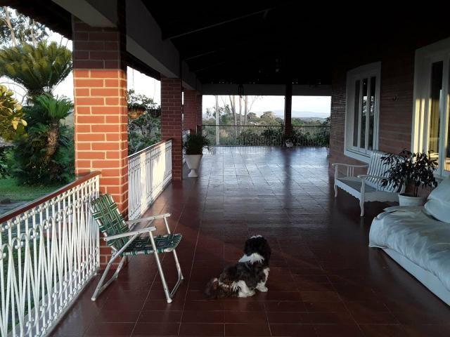 Chácara em Gravatá com 9 hectares, casa sede, 6 suítes, piscina com apoio, vista da BR-232 - Foto 7