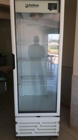 Cervejeira vert. SEMI NOVA porta de vidro 454 L