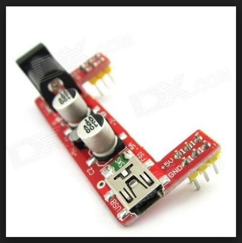 COD-AM236Módulo Fonte Alimentação Protoboard Mb-102 3,3v 5v Arduino Automação Robotica - Foto 4