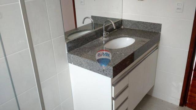 Apartamento com 3 dormitórios para alugar, 68 m² por r$ 1.500,00/mês - coração eucarístico - Foto 16