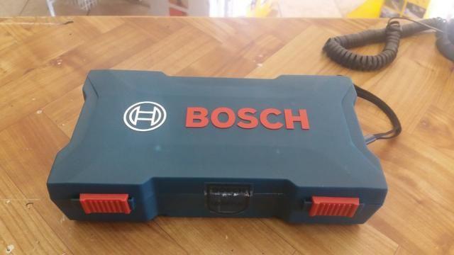 Parafusadeira bosch go 3.6v kit acessorios R$150,00 a vista novo sem uso com garantia - Foto 4
