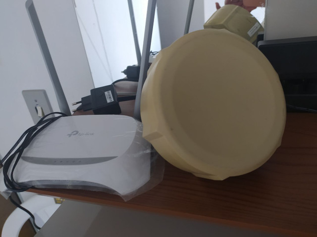 Antena Radia Mikrotik com Roteador