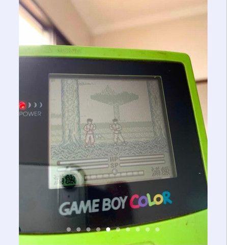Game boy color kiwi e jogo - Foto 3