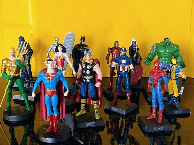Coleção miniaturas de heróis (14 peças) - Foto 3