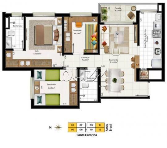 Apartamento à venda com 3 dormitórios em Santa maria goretti, Porto alegre cod:AP006318 - Foto 9