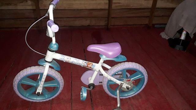 Bicicleta fronzen