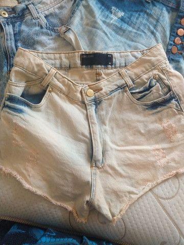 Shortinhos jeans