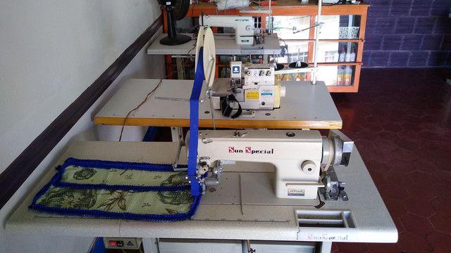 Máquinas de costura revisadas e com garantia - Foto 2