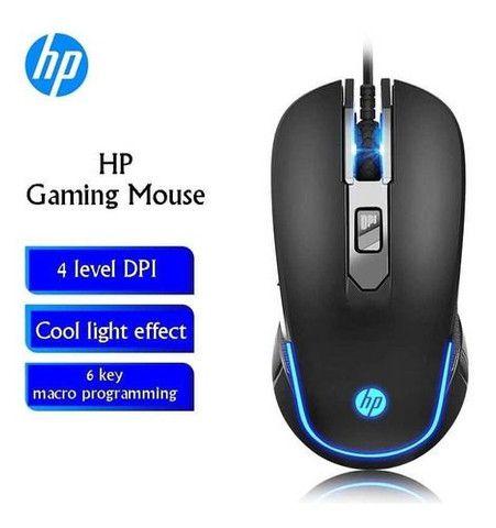 Mouse Gamer Hp 6 Botões, 1600 Dpi - M200