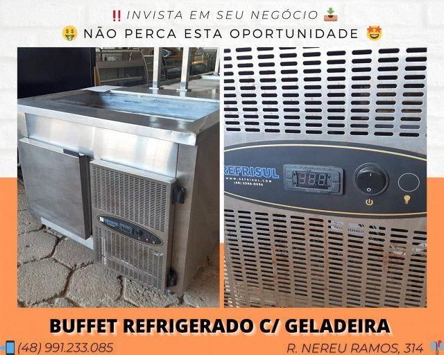 Buffet refrigerado c/ geladeira - Matheus