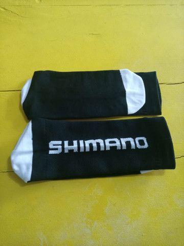 Meias Ciclista Shimano  com absorção de umidade