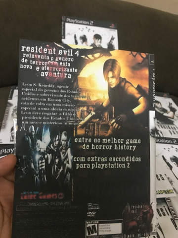 resident evil 4 ps2 game cd