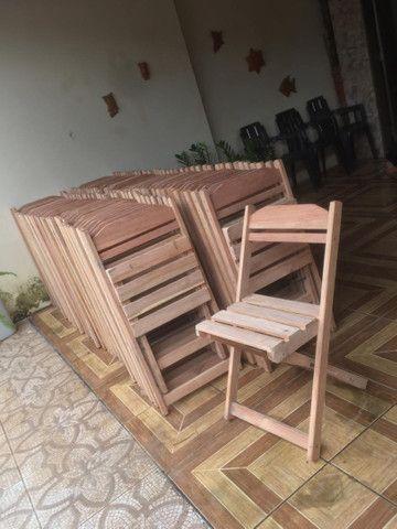 Mesas e cadeiras dobráveis  - Foto 6