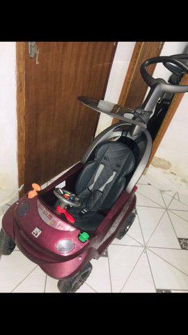 Carrinho de passeio Smart baby comfort vinho- bandeirante - Foto 2