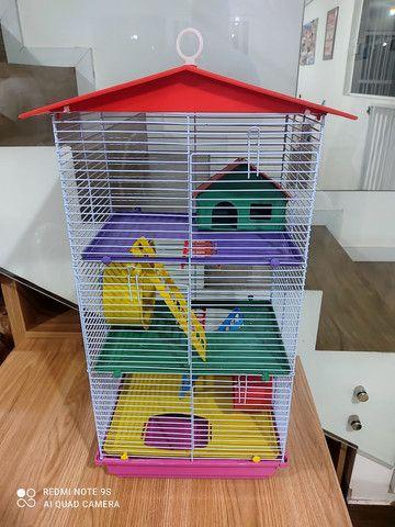 Gaiola prédio para hamster - Foto 3