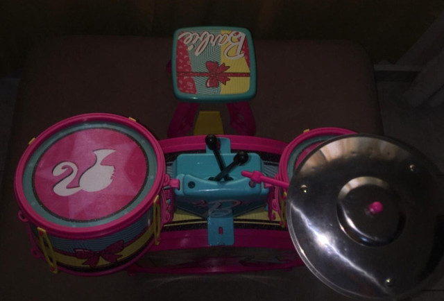 Bateria Infantil Fabulosa - Barbie - Foto 2