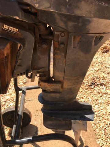 Motor 2 Tempos Yamaha 15 Hp Usado Ano 1994 - Foto 9